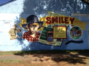 Smiley mural