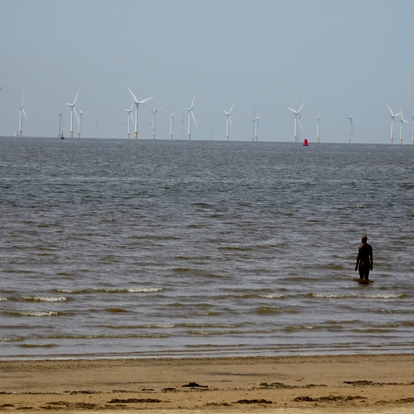 Anthony Gormley's Another Place (1)